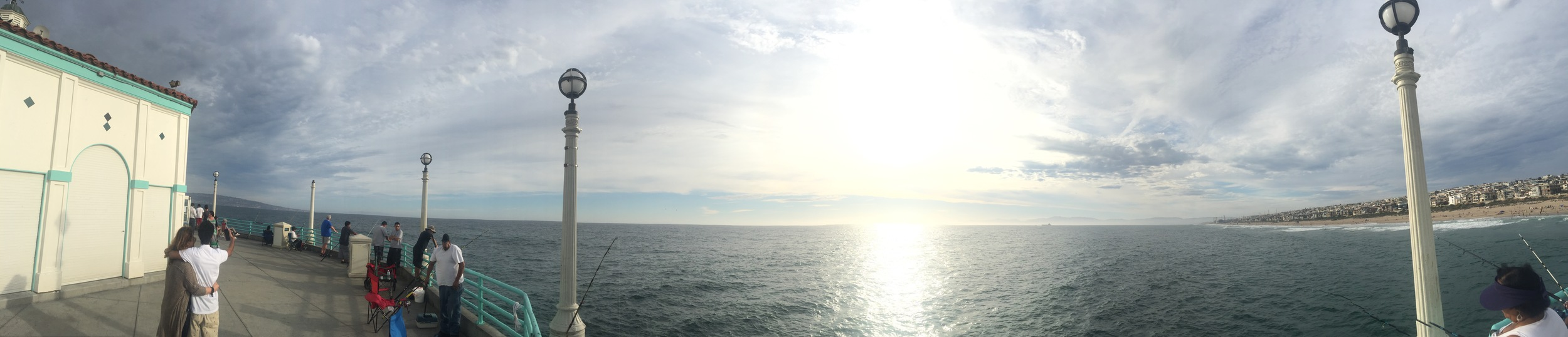 The beautiful Manhattan Beach!