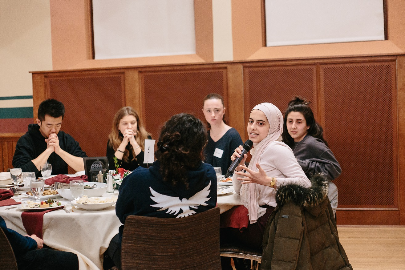 People's Supper at the University of Massachusetts at Amherst  March 2019