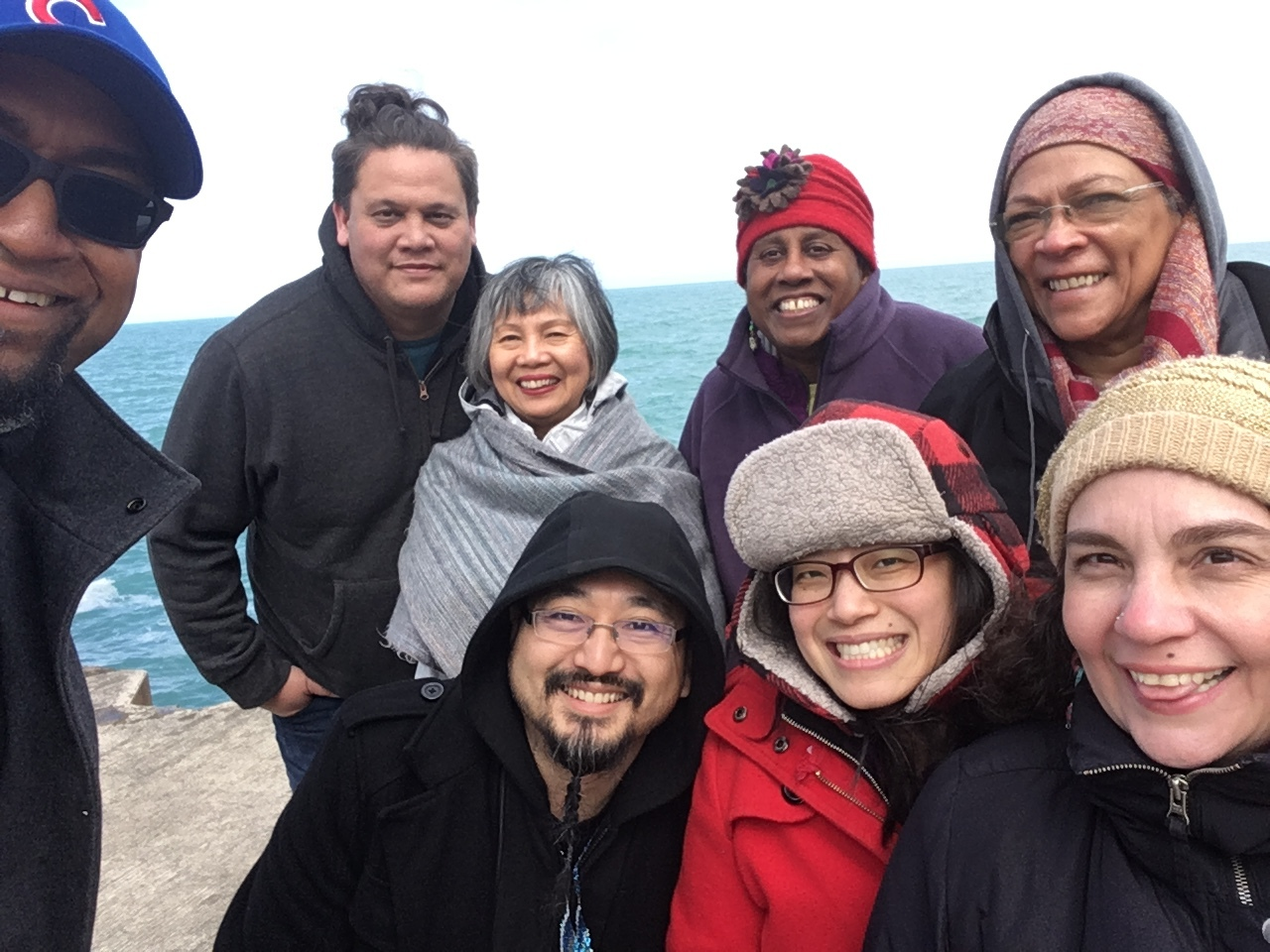 How We Deepen Wisdom Circle members on retreat in Chicago (March 2019).