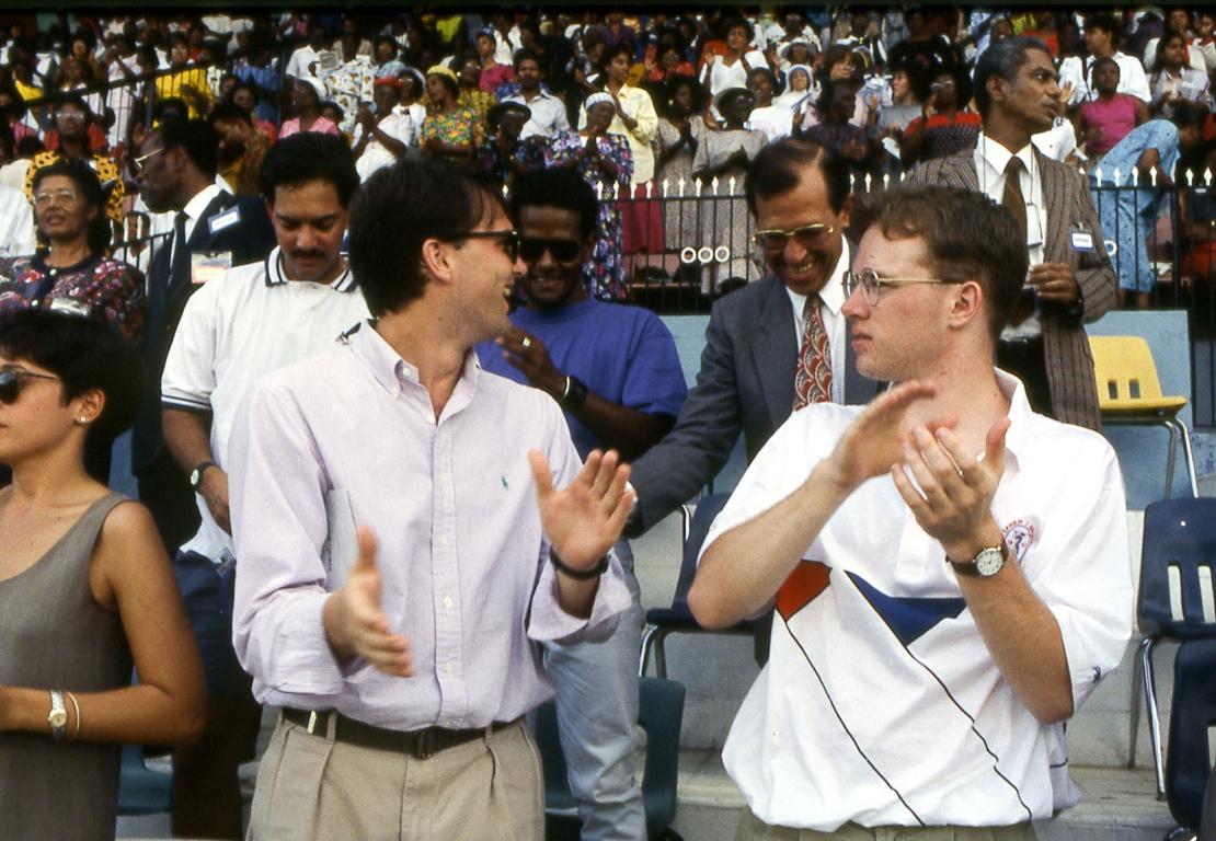 Andrew Palau, Jamaica, 1993