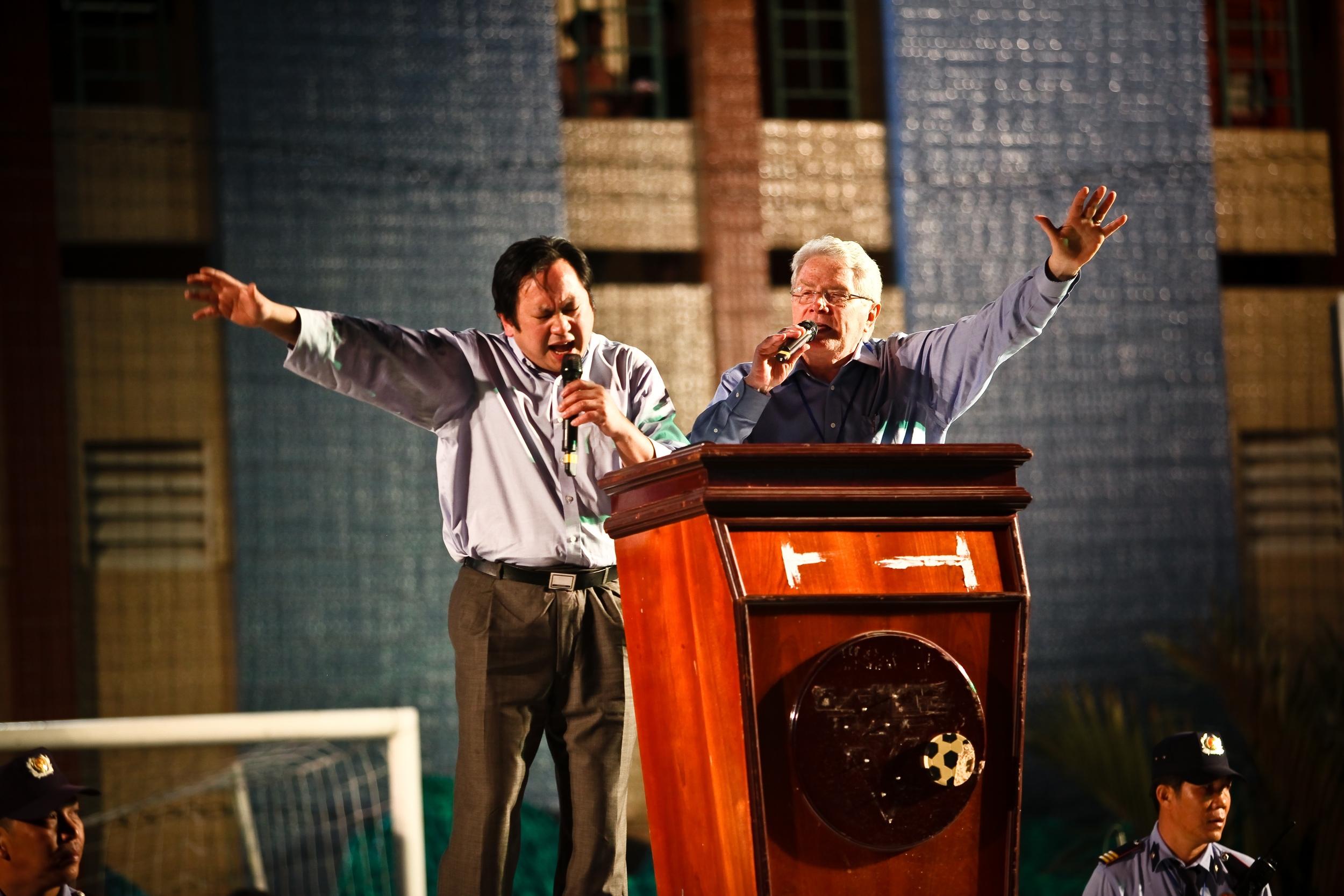 Luis Preaching in Vietnam, 2011