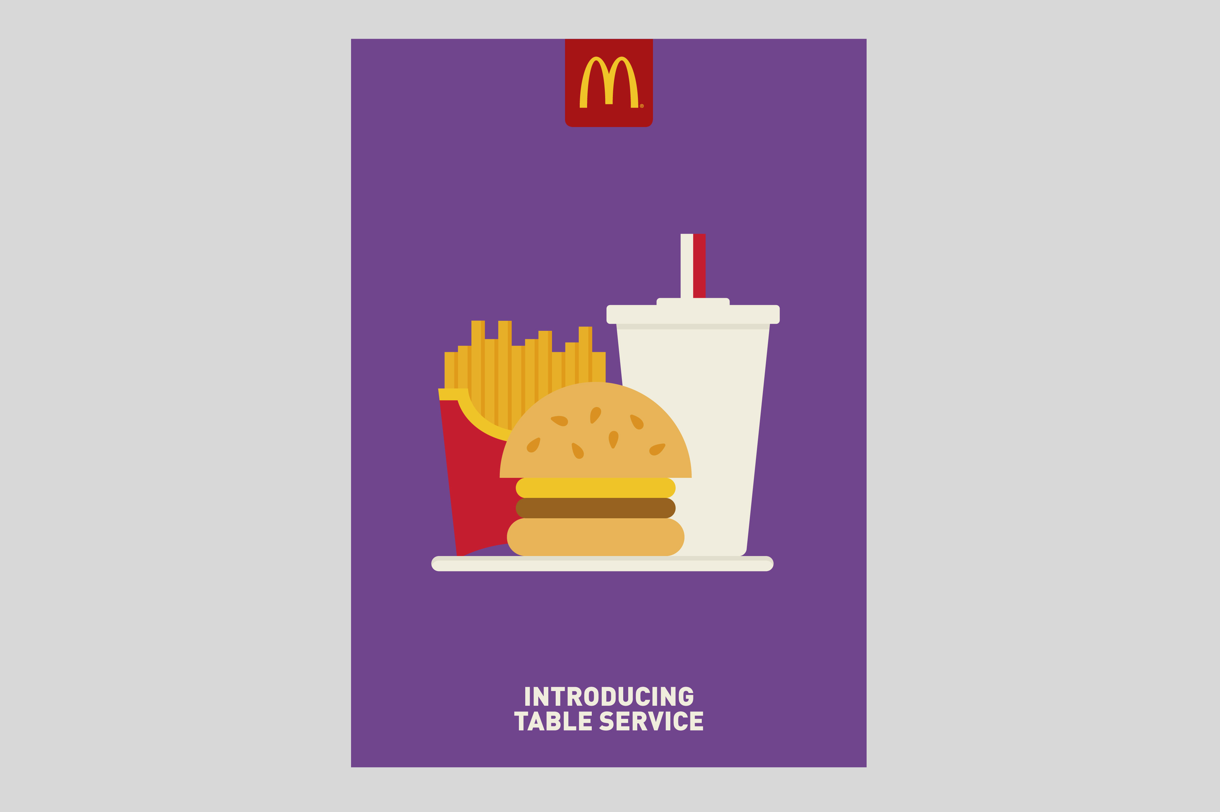 McDonald's Restaurant of the Future Poster