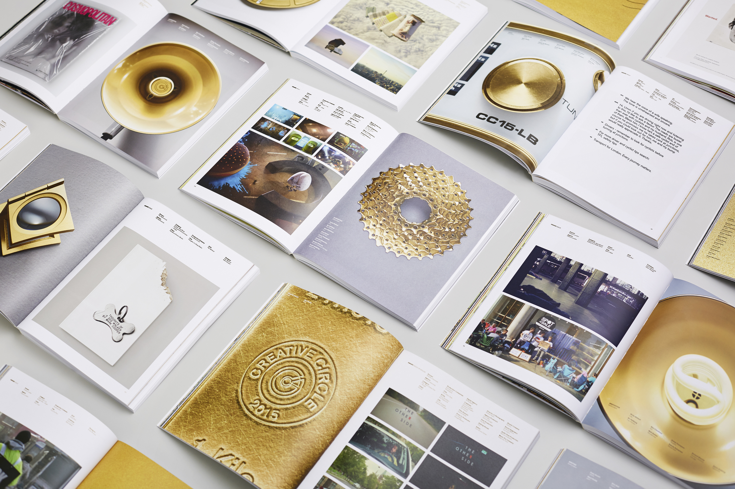 Creative Circle - Gold Section