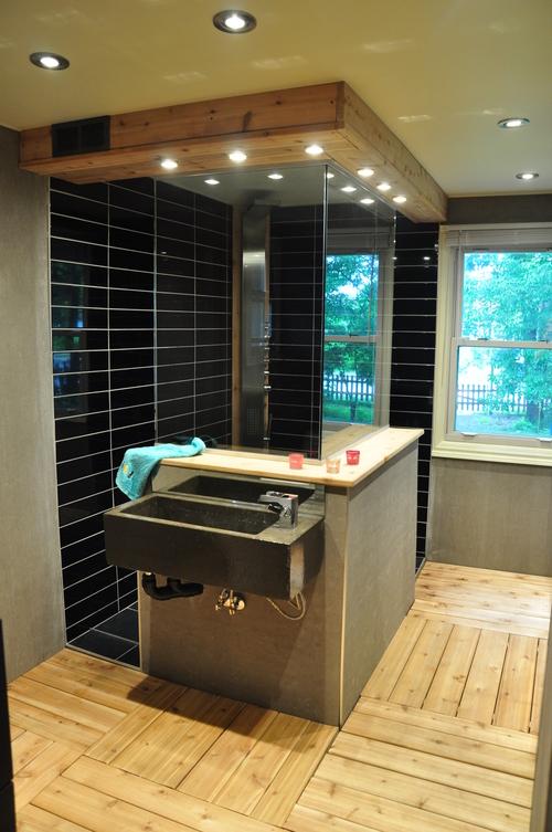 Salle de bain comtemporaine — Habitat-Fix inc.