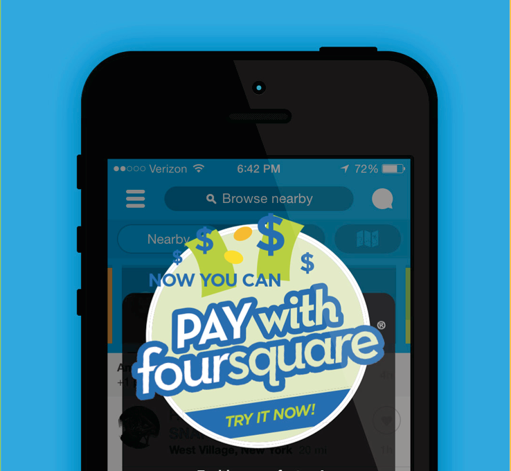 Pay With Foursquare