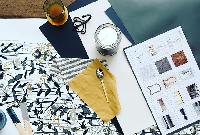 It's Friday and we are craving some inspiration for the weekend! Check out this design mood board using @c2paint colors!	#homedecoratingideas #interiorhomedecor #homedecorinspo