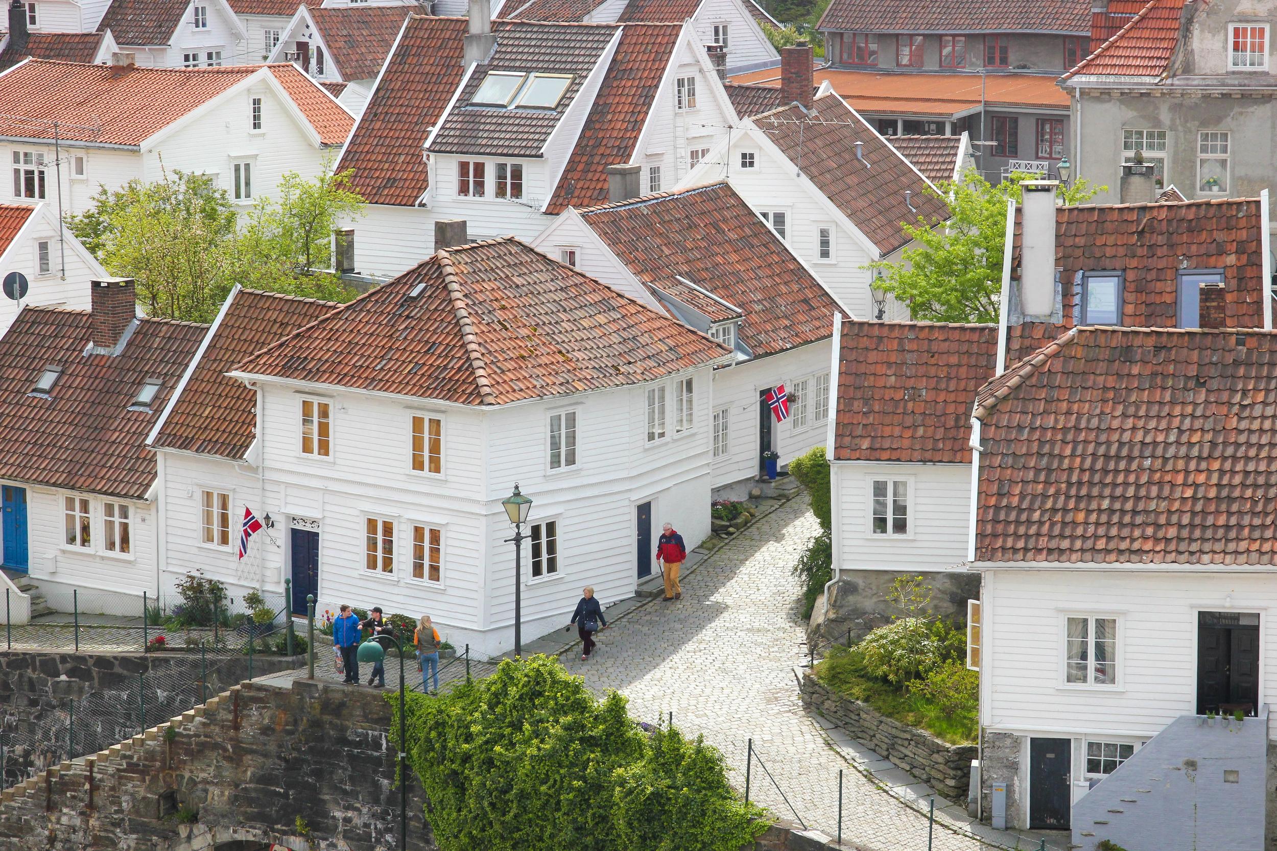 The city of Stavanger