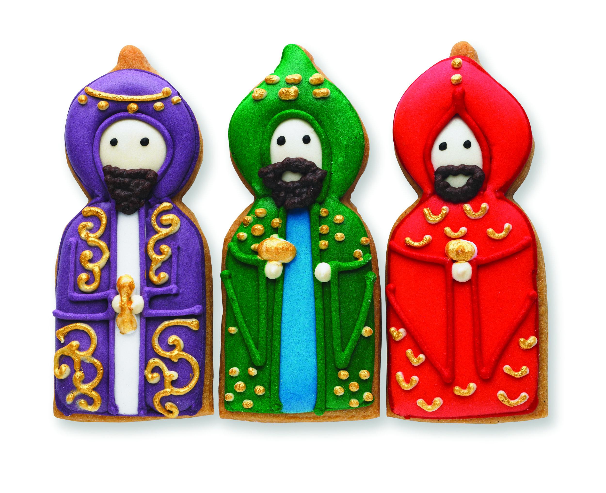 6. Three Kings Biscuit Card
