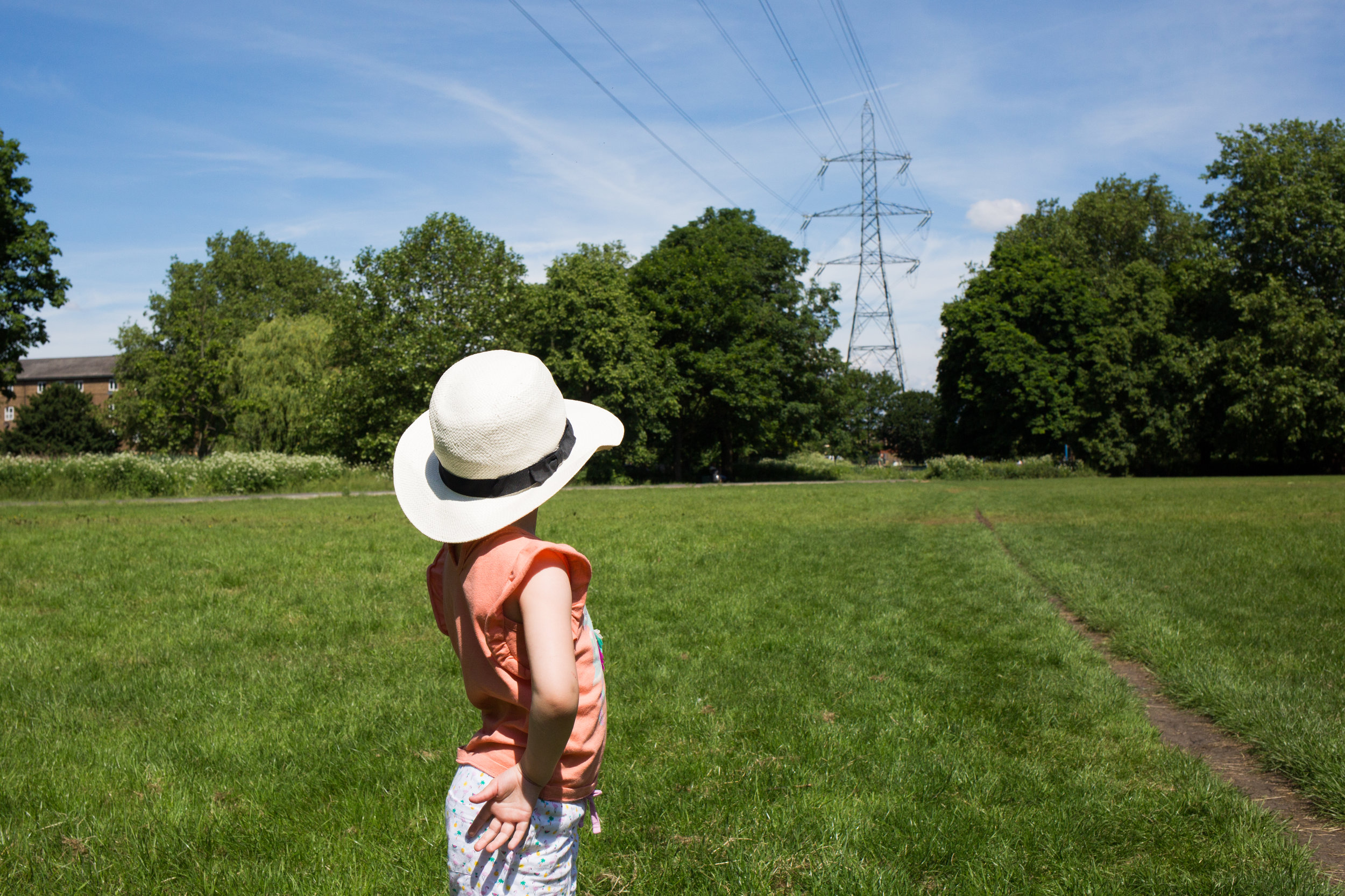 Pylon at Colliers Wood, Canon 5d Mark III, 35mm, F10, 1/1600