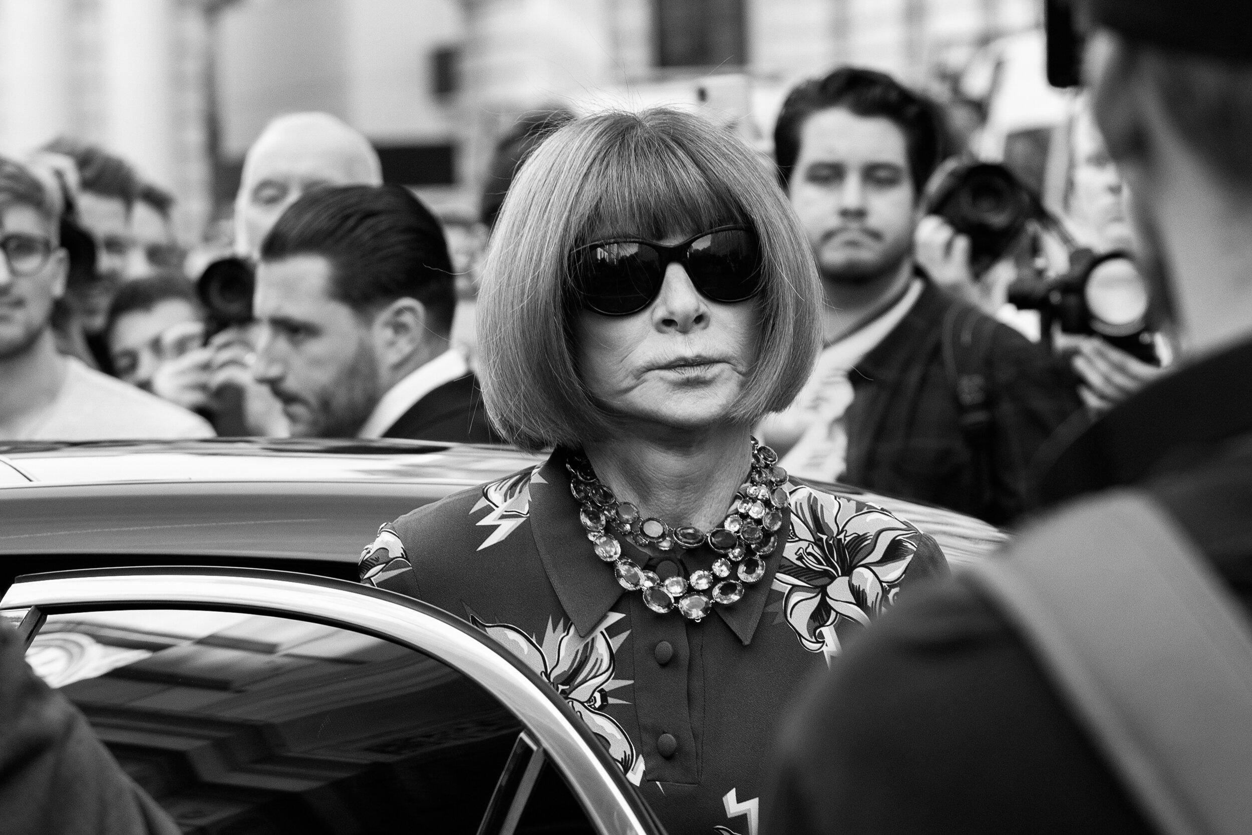US Vogue Editor Anna Wintour
