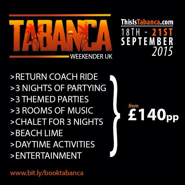 Tabanca Weekender uk by El Jaguar TV