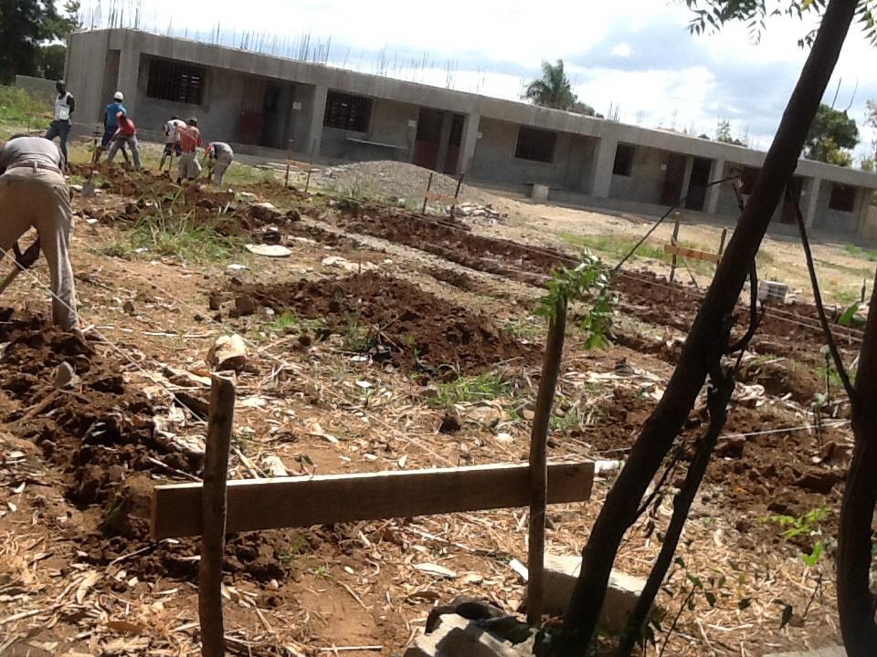 Planning for digging foundation