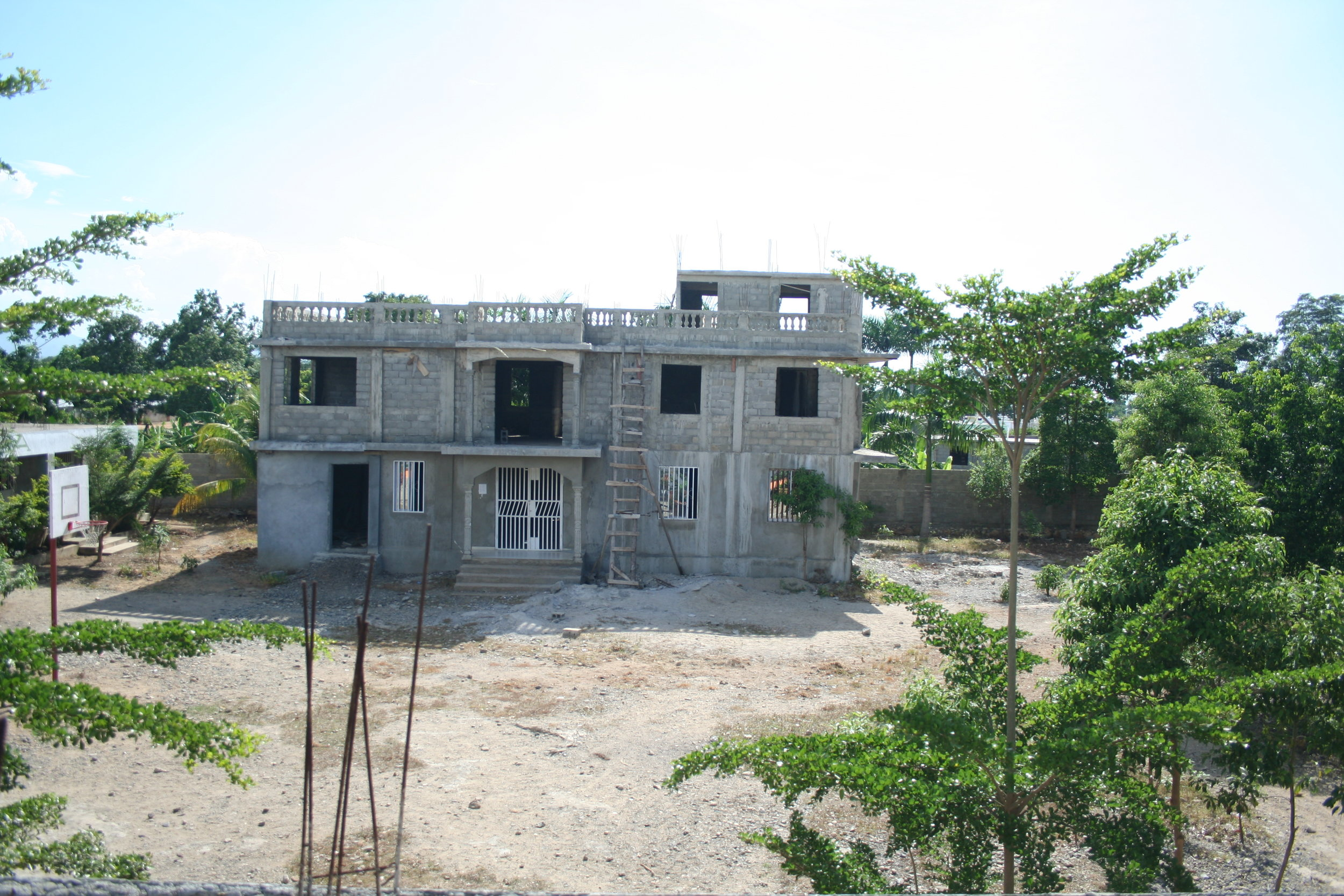 Secondary Construction on School