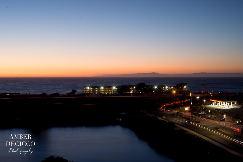 Hotel Room Sunset