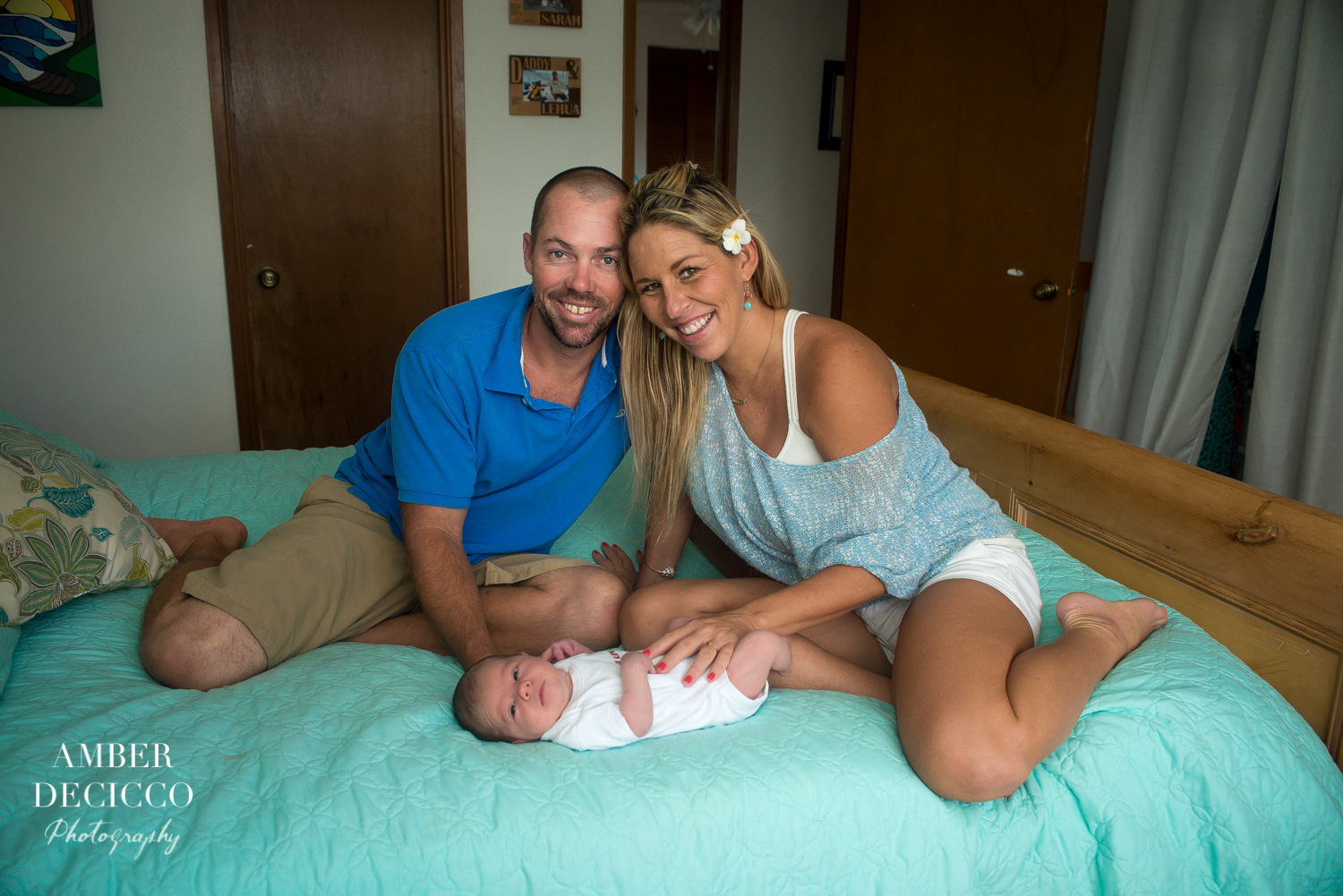 Family Photograph with a newborn