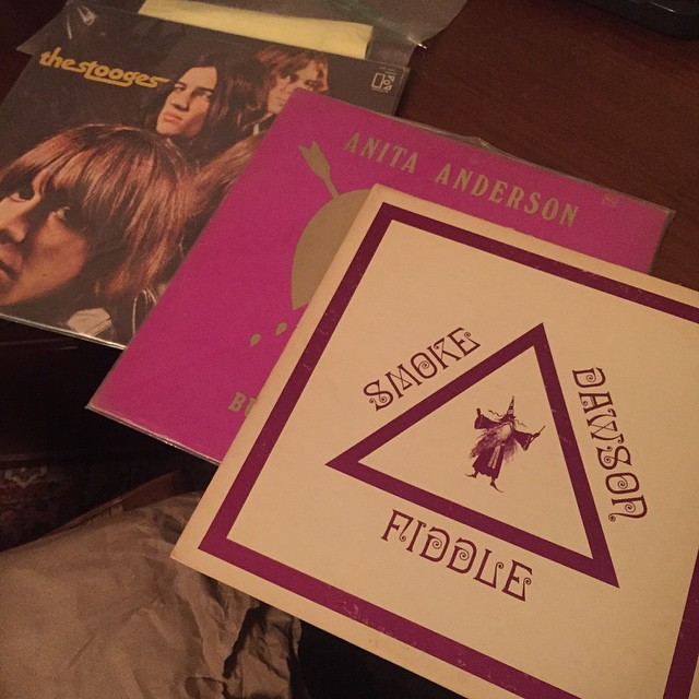 Found an original 1971 pressing of fiddle great Smoke Dawson and some other fun stuff over the weekend in Santa Barbara. #fiddle #smokedawson