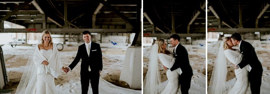 Milwaukee Wedding Photographer, Pfister Wedding, winter wedding