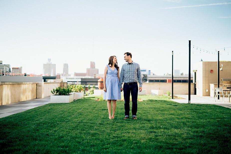 Milwaukee Wedding and Engagement Photographer - Iron Horse Hotel
