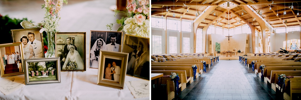 St. Mary Catholic Faith Community Wedding - Milwaukee Wedding Photographer