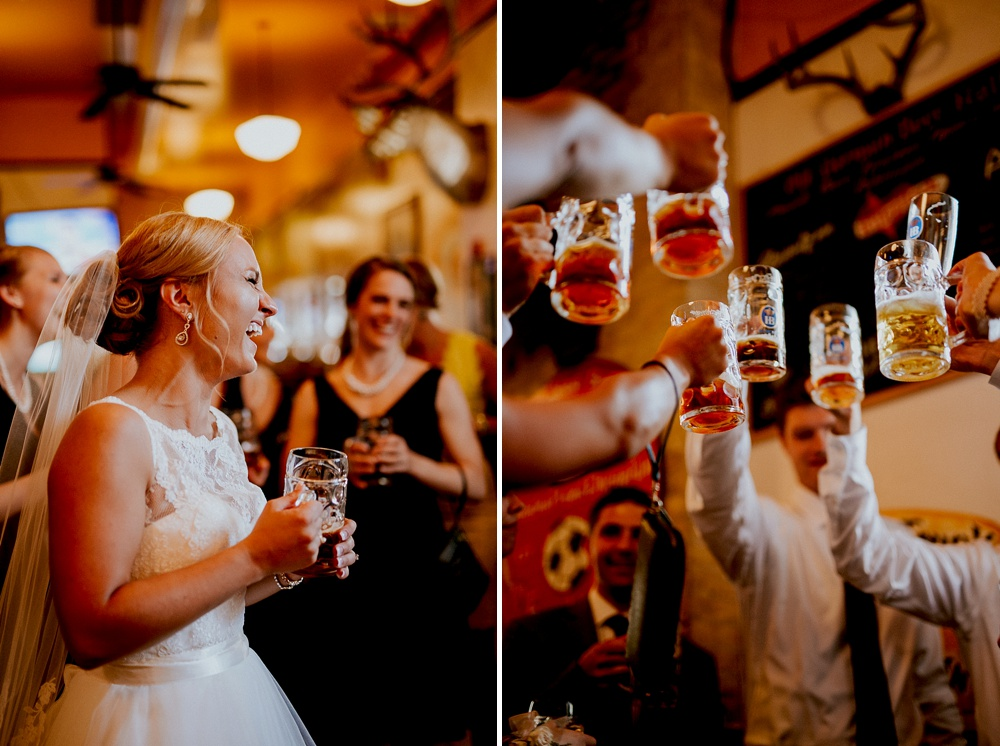 Milwaukee Wedding Photographer - Old German Beer Hall