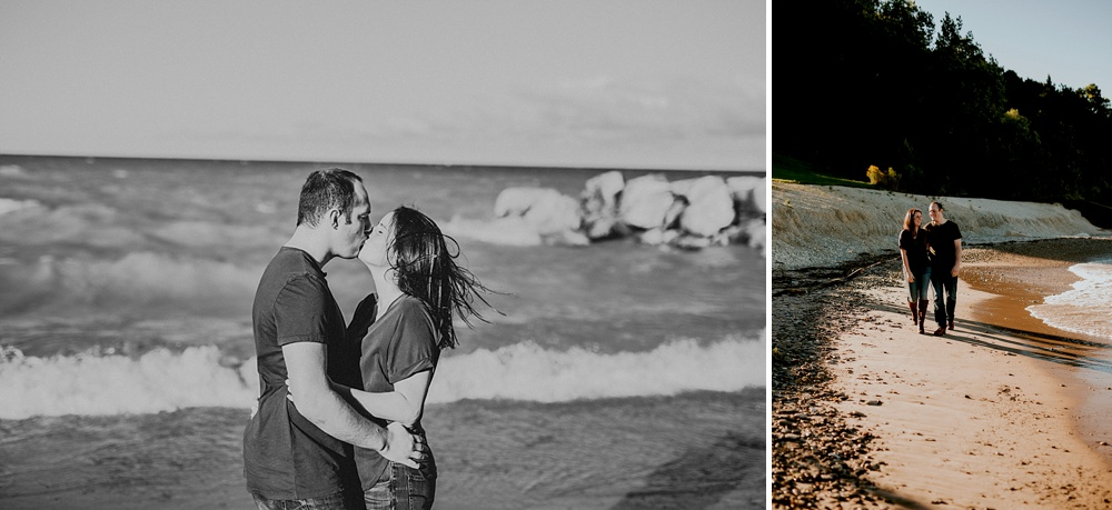 Klode Park Engagement Session - Milwaukee Wedding Photographer