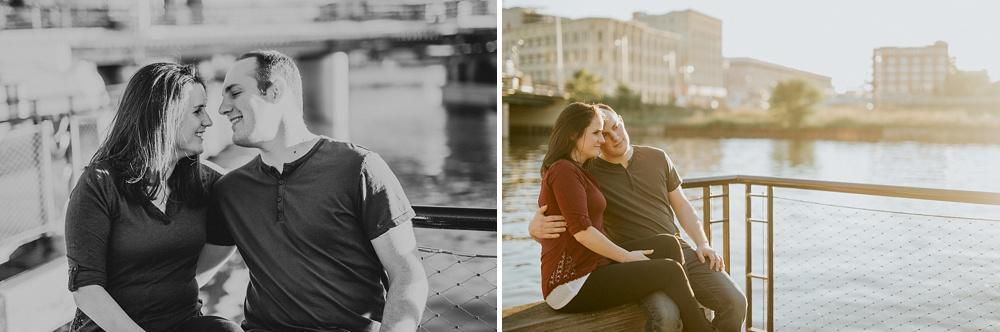 Third Ward Engagement Session - Milwaukee Wedding Photographer