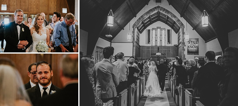Edgebrook Covenant Church Wedding - Liller Photo - Milwaukee Wedding Photographer