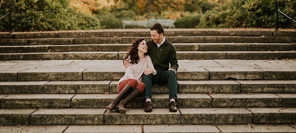 Cantigny Engagement Session - Fall Engagements - Autumn - Milwaukee Wedding Photographer