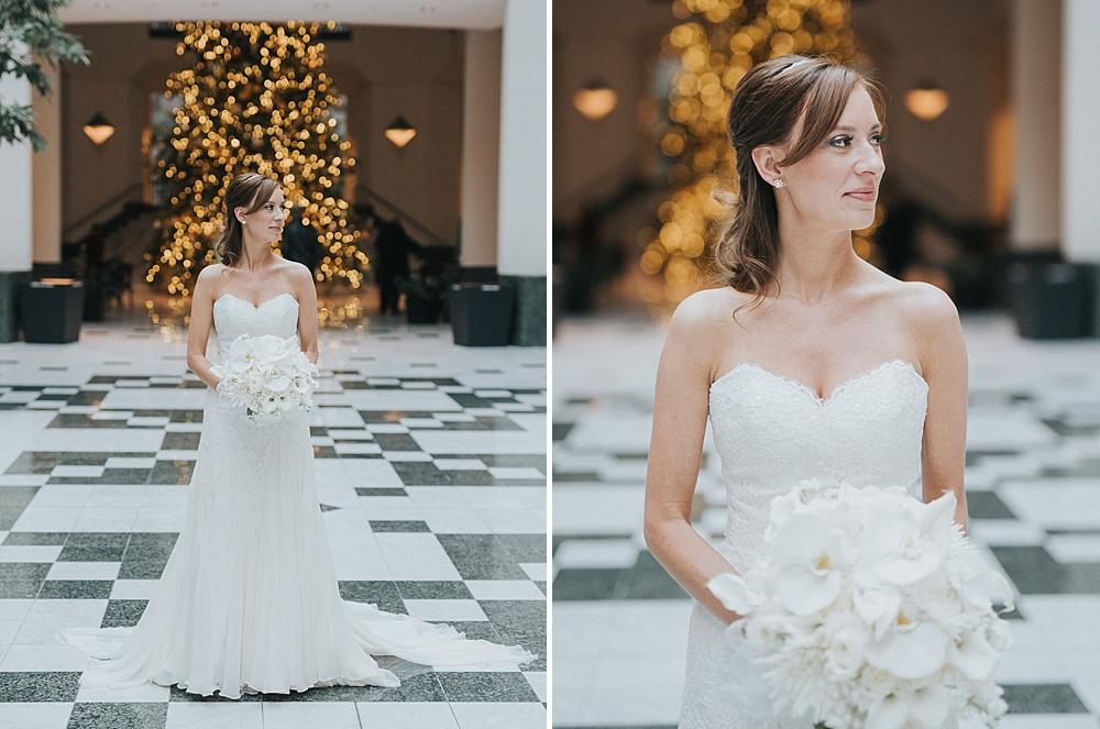 Intercontinental Milwaukee Wedding - Milwaukee Winter Wedding - Liller Photo - Milwaukee Wedding Photographers