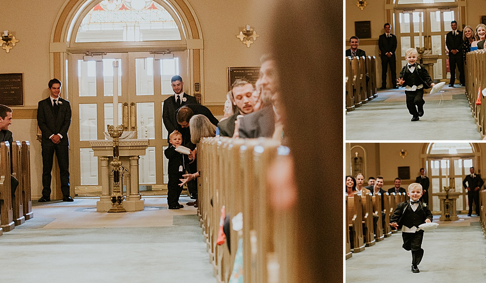 milwaukee photographer - old saint mary's parish - milwaukee county historical society wedding - liller photo
