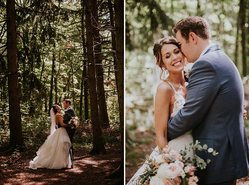 milwaukee wedding photographer - schlitz audubon nature center wedding