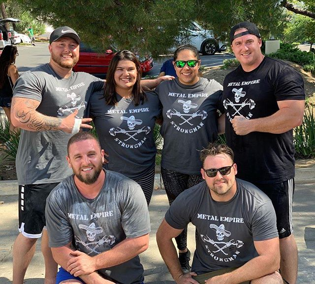 Congrats to our very own @elviruuuh! Way to represent! Hard work sure does pay off 💪 - #strongman #deadweightstrength #fitness #sandiego #gym #repost #instagood #blessed #firstplace🏆