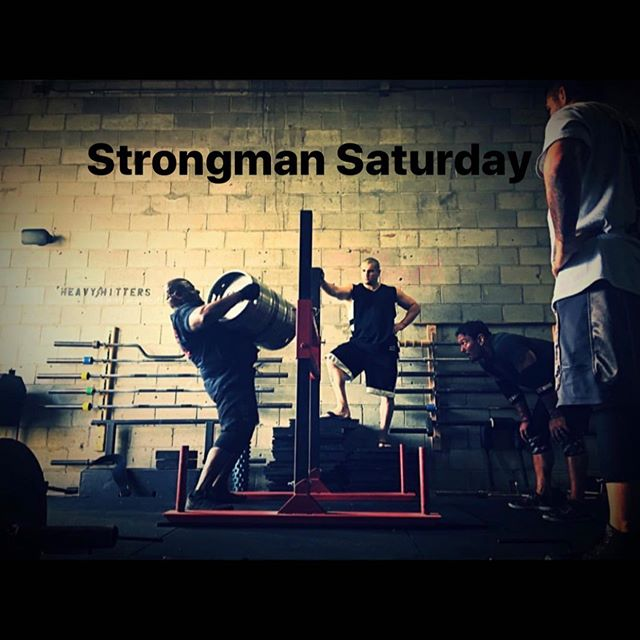 Strongman Saturday is on tomorrow 8/17 from 11:00-1:00. Non members are welcome to join in on the fun as well. Zero drop in fees still apply during this time only so don't miss out!! - #deadweightstrength #powerlifting #strongman #training #motivation #crew #team #gym #lift #instagood