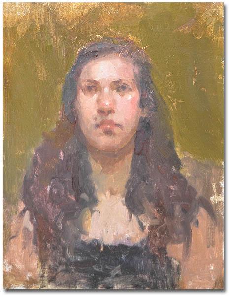 Rachel,11 x 14 / Oil on canvas ,  AVAILABLE