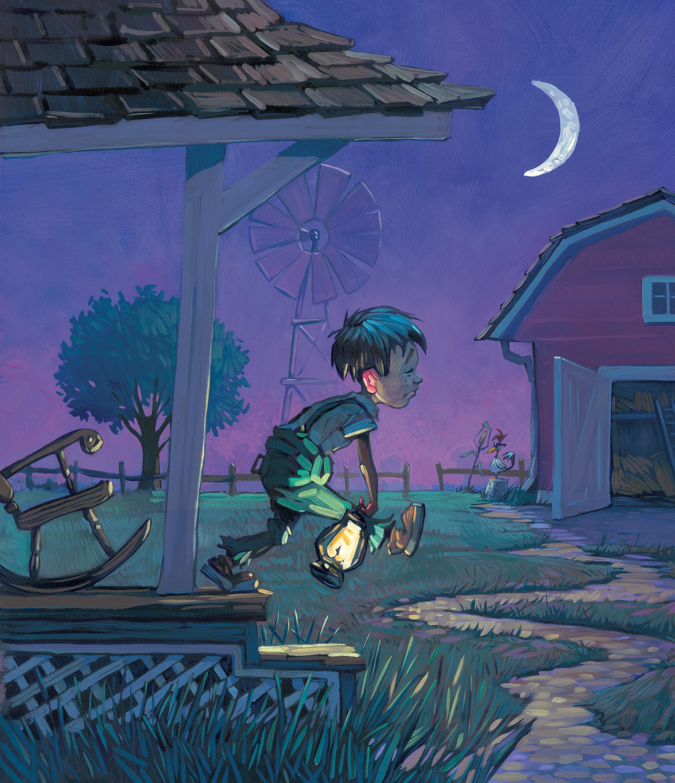 Rude Awakening   • Oil on illustration board