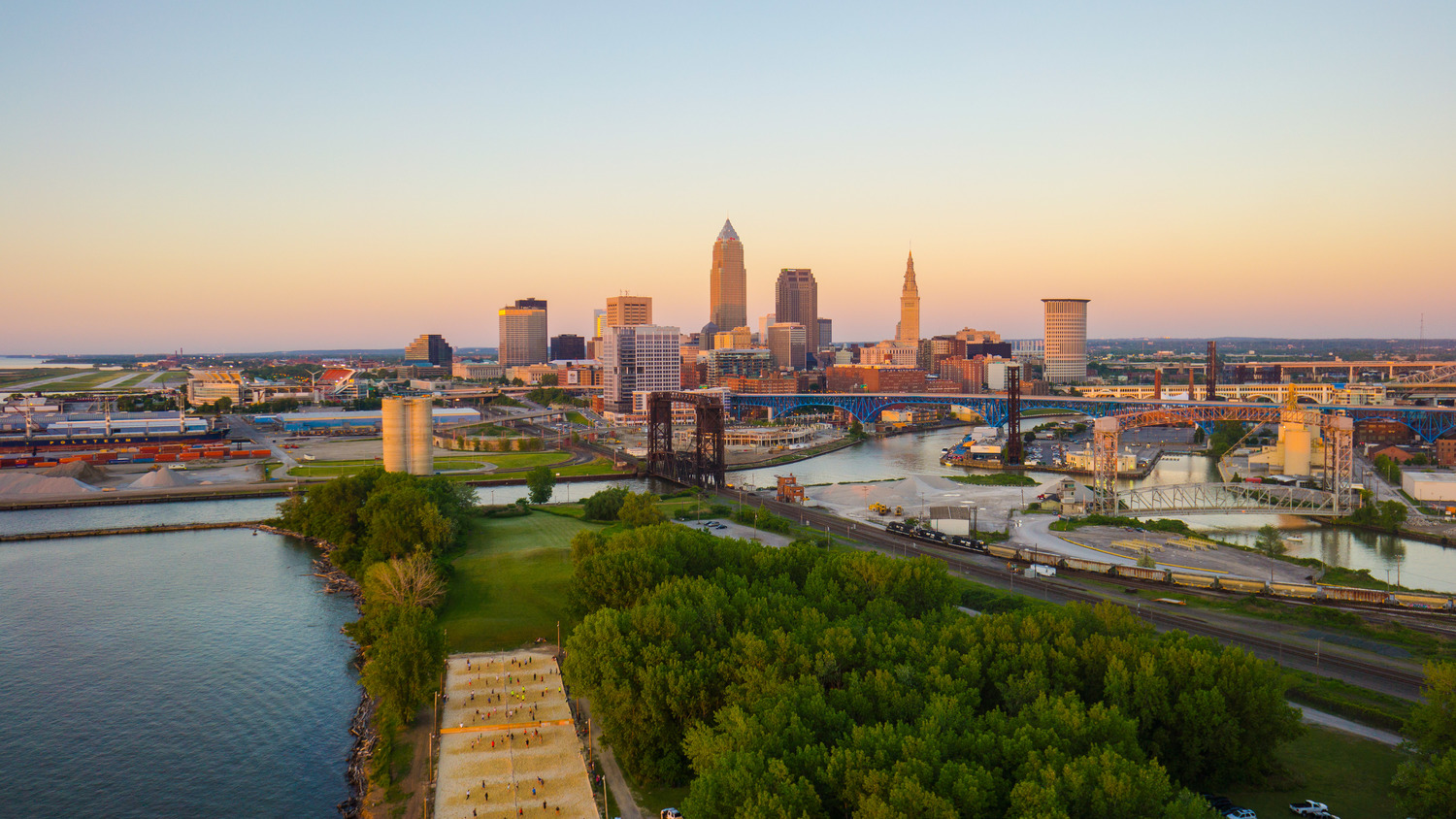 Beautiful photographs of Cleveland are available for purchase from Aerial Agents.