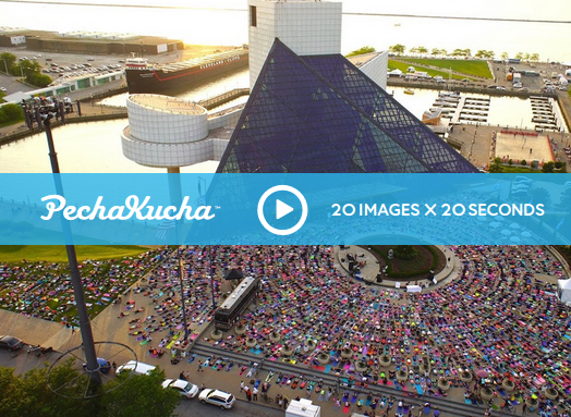 Listen to Tammy explain the evolution of the Believe in CLE Yoga Movement using 20 images, 20 seconds narration for each.
