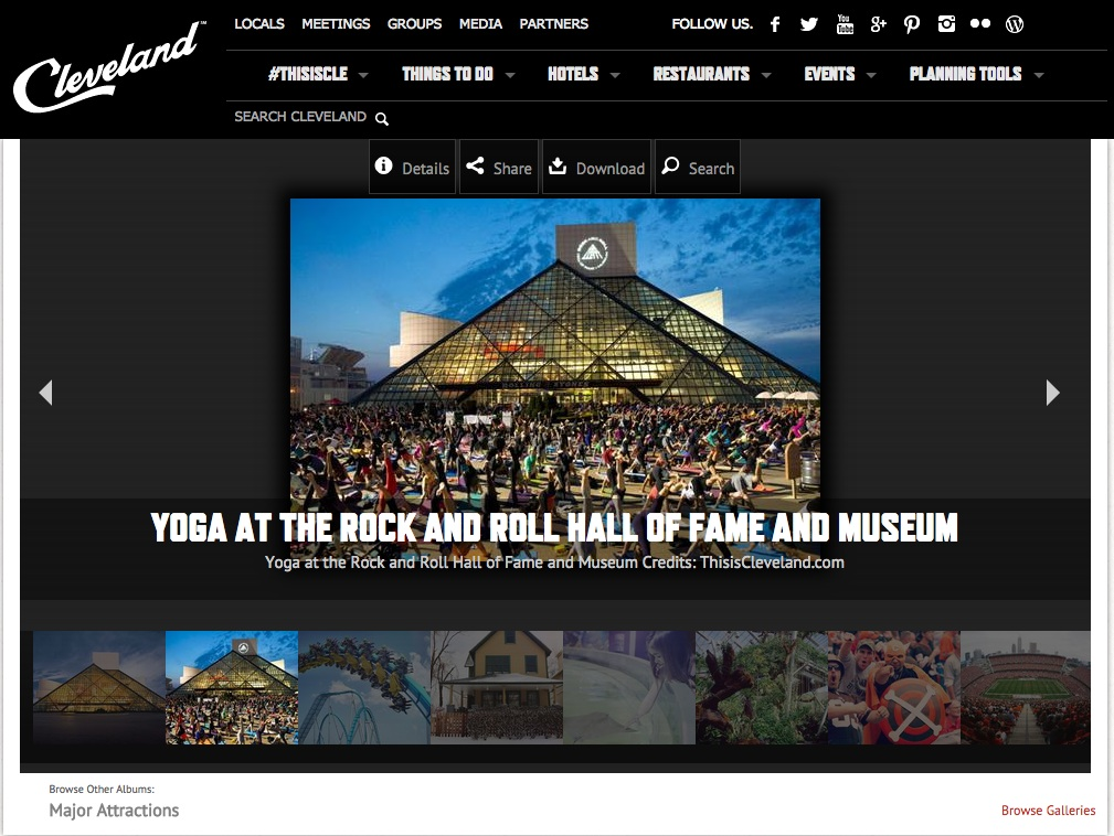 We were thrilled to be noticed by these cool, creative folks!  www.thisiscle.com