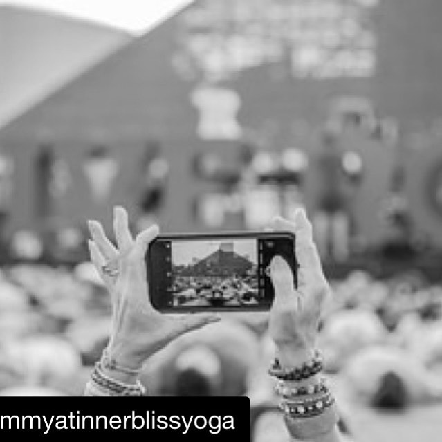 Believe & then you will see.  Believe & so it will be. —@tammyatinnerblissyoga  #believers #believeincle #believe #innerblissyogastudio #rockhall #yoga #yogamakesyouhappy #seeyogaeverywhere