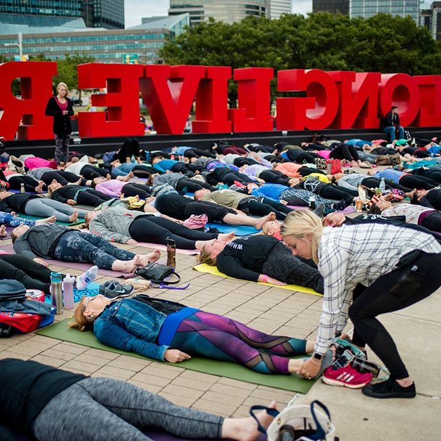 Calling all Cleveland area yoga teachers! 🧘🏻‍♀️🧘🏻‍♂️ Are you interested in offering to ASSIST at our August 30th event in front the @rockhall ? A great opportunity to witness our community coming together in celebration of our city and each other. Give a shout to Jackie at assistiby@gmail.com for details. THANK YOU! 😄
