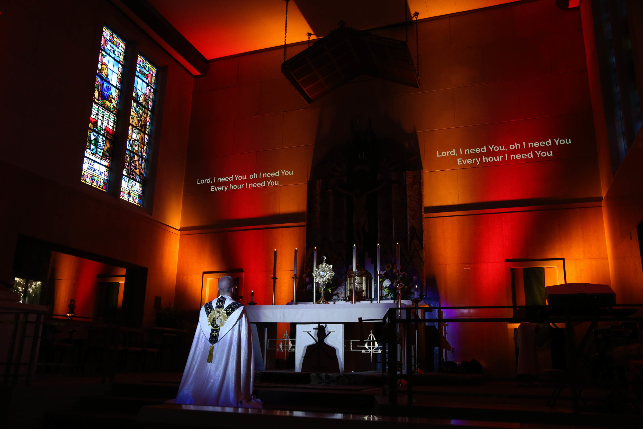 Blessed Sacrament, Wichita - Adoration