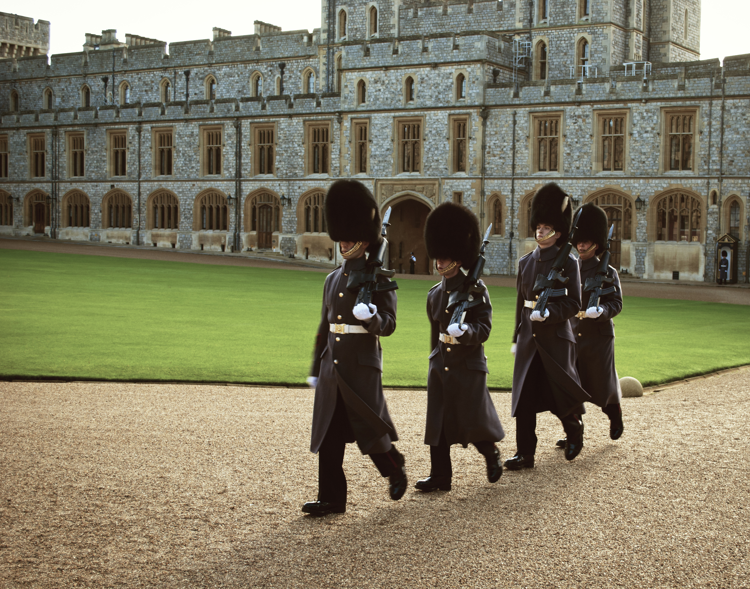 Queen's Guard at Windsor Castle