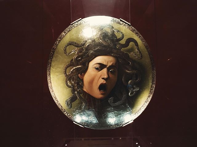 Caravaggio's interpretation of Medusa.