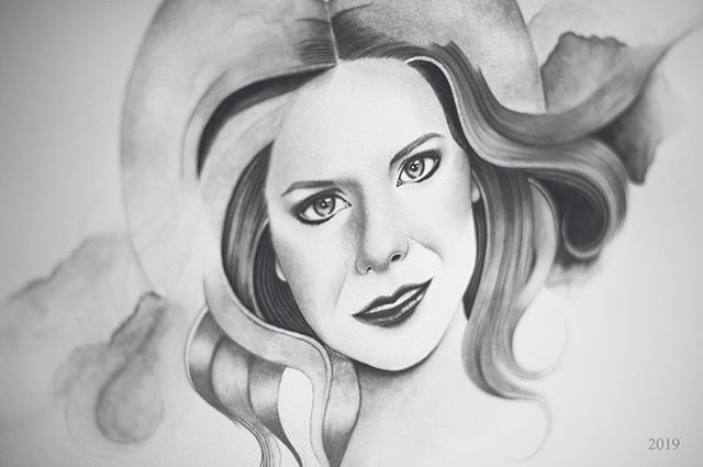 Eight years ago today, not only did I lose my Mother, but I also lost my drive and I grew distant from everything I once cared about including my art. For several years, I couldn't bring myself to create anything. I needed time.  When I first drew my Mother, it was right after she had passed. I had trouble focusing and I just wasn't ready emotionally. I was forcing myself to get through it rather than embracing the process. I thought I could convey what I was feeling inside at that time, but I wasn't letting myself become vulnerable because I didn't want to feel anything.  After years of hiding and learning to adjust without my Mother, I was finally ready to open up to the world and share my story.  In my second attempt of portraying my Mother, I haven't necessarily found closure, but I am strong enough now where I can properly honor her in the way I know best. I won't reveal too much since this is only a work in progress, but I wanted to share just how important it is to take time for yourself and heal in your own way. I personally would not have explored this new direction in my artwork if I didn't take the time that I needed to pursue other means of happiness.  I used to think that making art was an escape for me when in reality I am actually confronting some of the darkest moments in my life and finding a way to turn it into something meaningful. In a sense, it is healing, but it's also reliving that painful experience and learning how to cope with it. I will always hurt without my Mother, but she will always be the focal point in everything that I do.  I may not have been able to reverse time in order to save my Mother, but I can, at the very least, give her a way out of her pain through my art and that's what I vow to do for as long as I live.