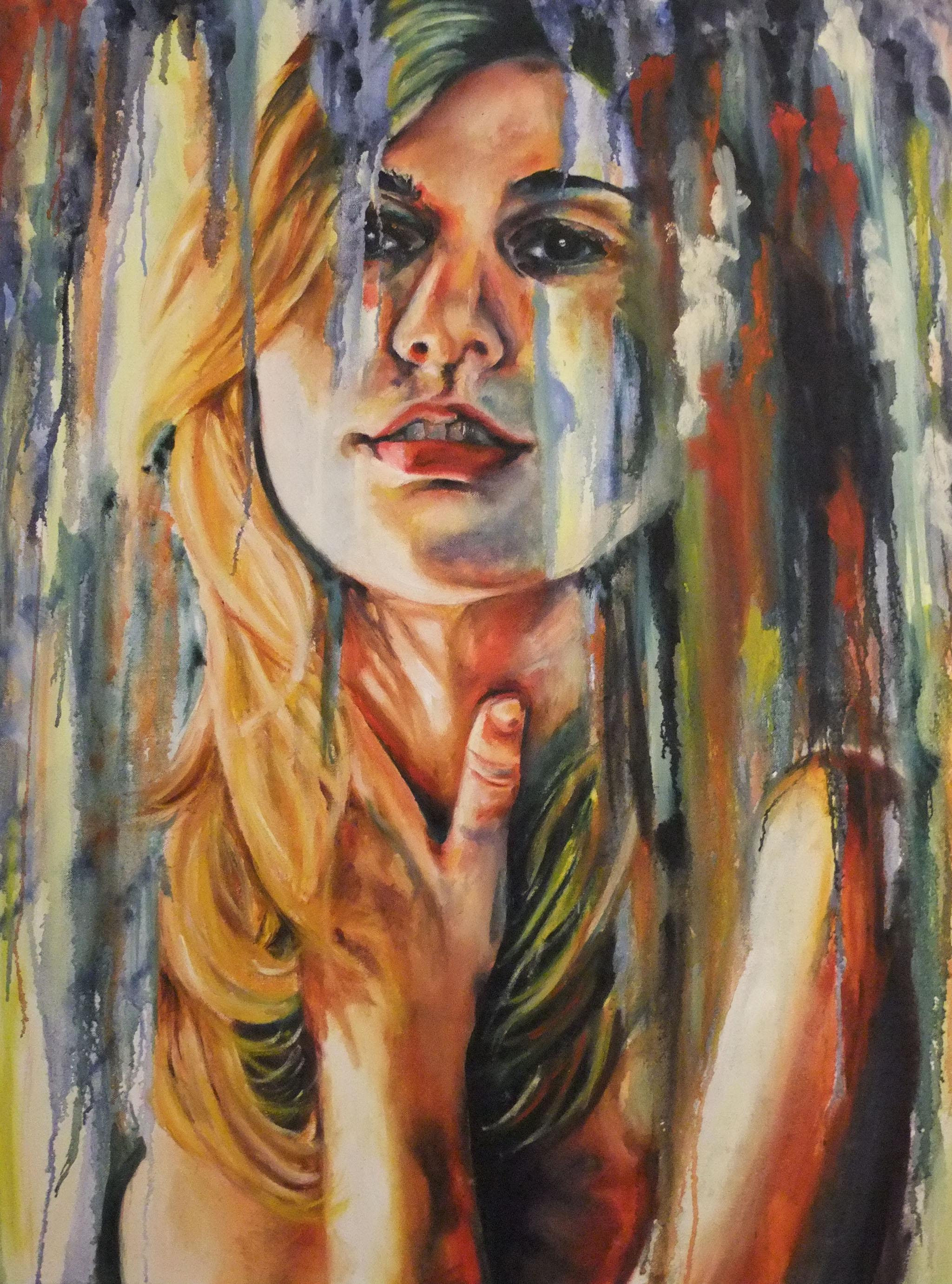 Self Portrait , 2011  Oil on canvas