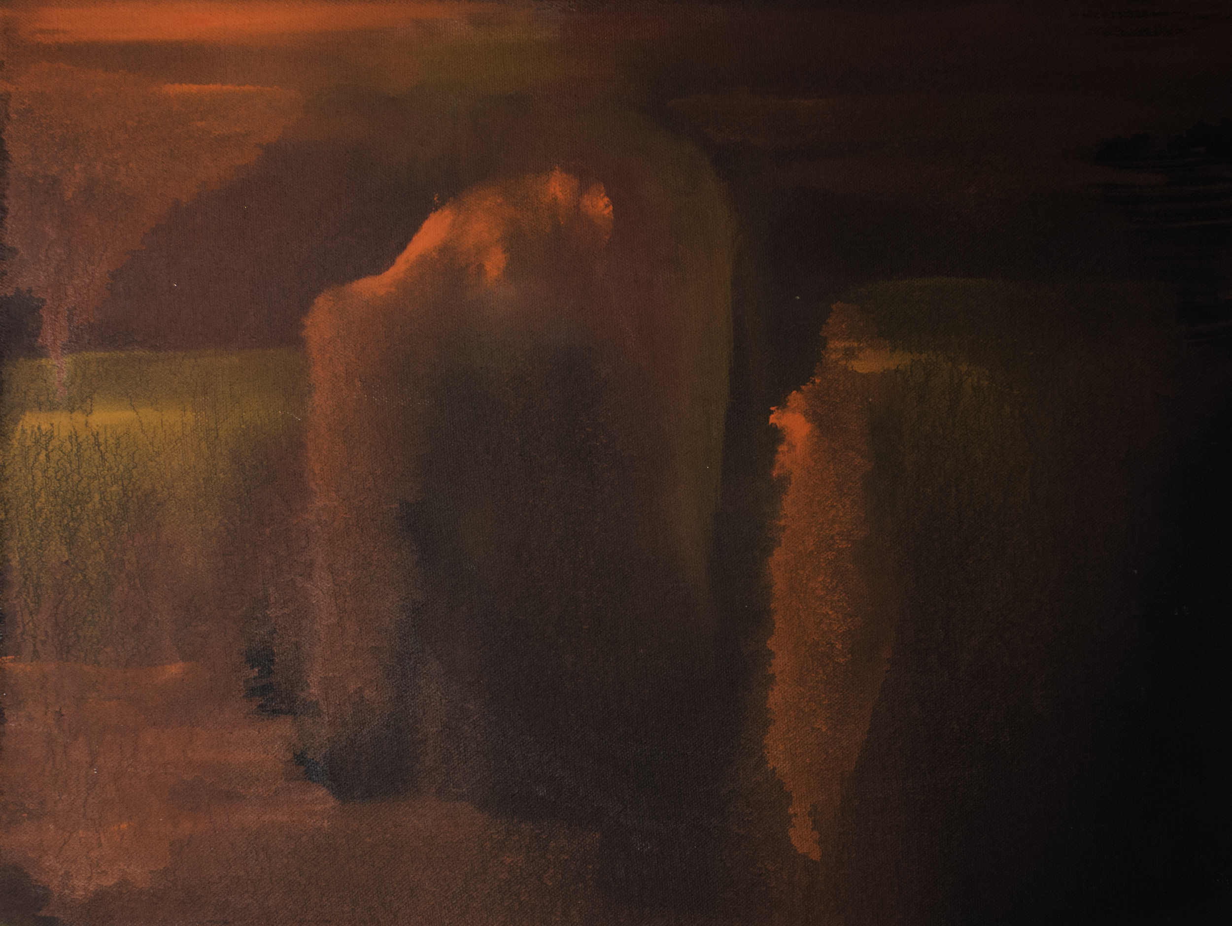 "Study,  2014  12"" x 18"" | Oil on canvas"