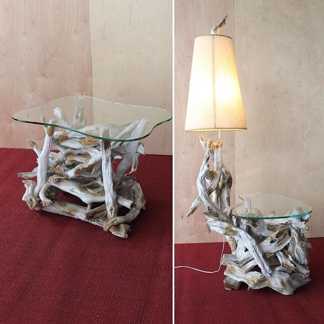 1960's #driftwood furniture pieces available for rent at Eclectic