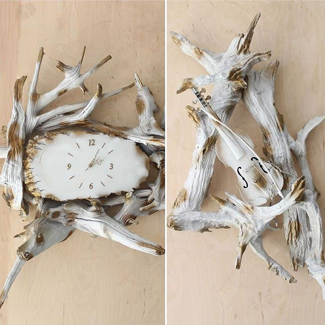 Great new 1960's #driftwood props at Eclectic!