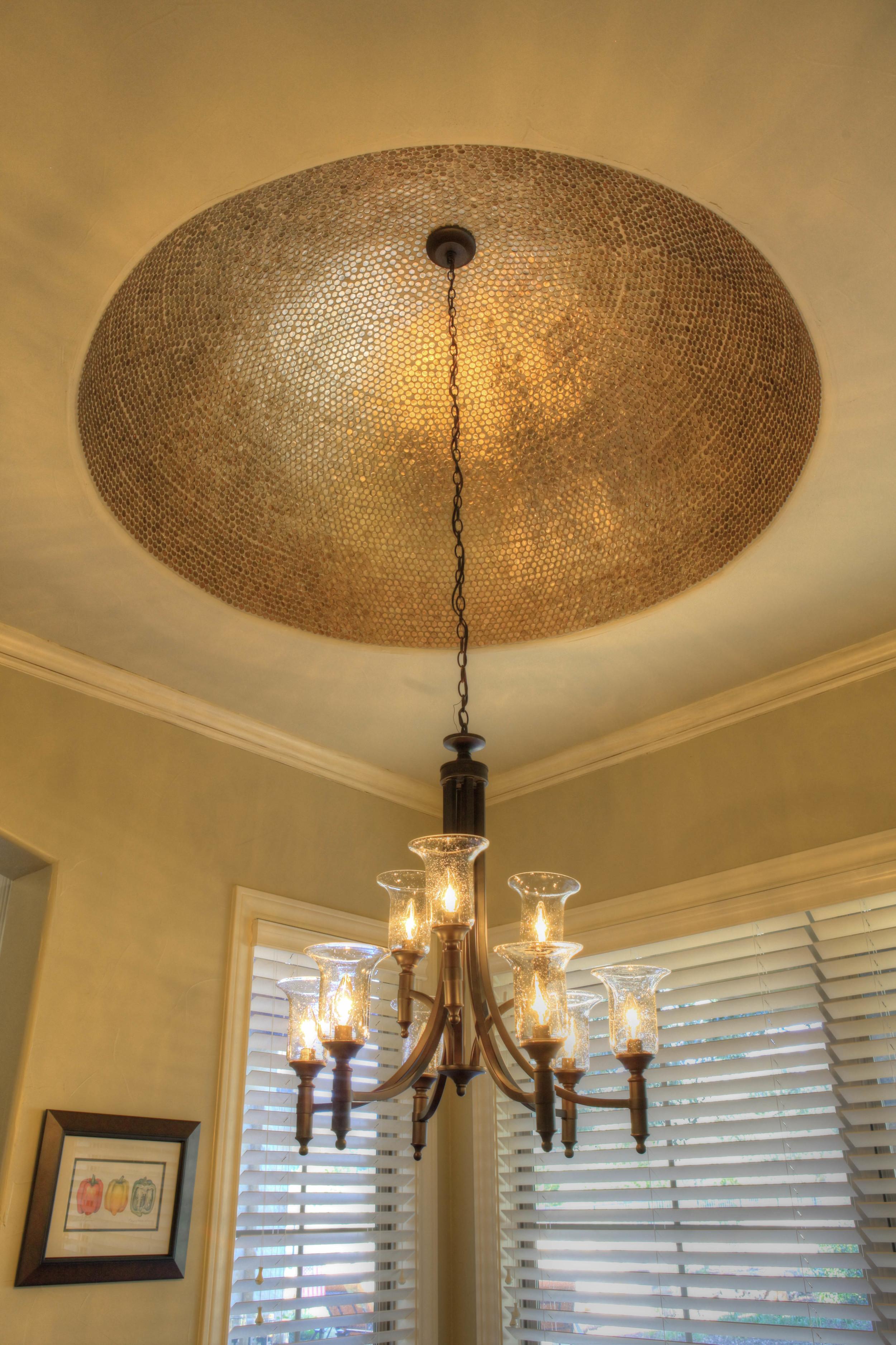 kitchenette - dome chandelier.jpg