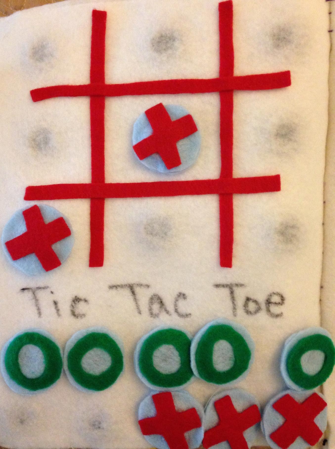 Tic Tac Toe Page